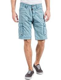 Timezone Herren Shorts 25-0187 RossiTZ cargo incl. belt