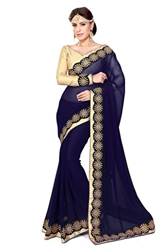 Kostüm Indischen Traditionellen - Mirchi Fashion Damen Bollywood Kostüm Indian Sari Kleid mit Ungesteckt Oberteil/Top