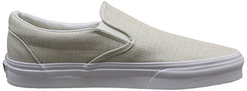 Slip Sneakers White true erwachsene Grau gray on Unisex chambray Classic Vans tqTAw6gxA