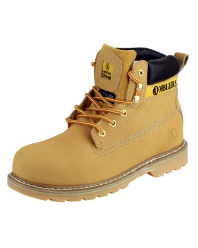 Unisex FS7 Steel Toe Cap Boot in Honey (10)