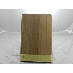 10hojas de chapa de madera nat. Para l 'INTARSIO de nogal Selección 280mm x 180mm x 0,6mm