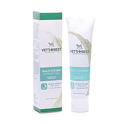 Vets Best Multi-System Support Supplement Gel for Cats