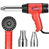 Pistolet à air chaud professionnel 700 W Souffleur à air chaud Régulation de la température de l'air chaud électrique pour souder et rétrécir des déchets en PVC de 50 à 550 °C