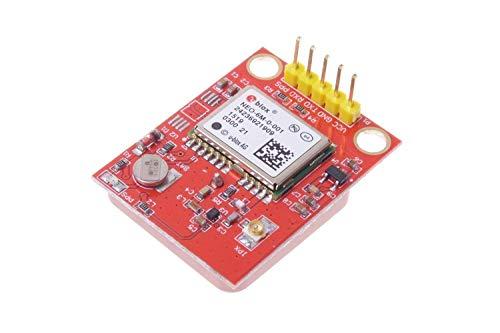 UIOTEC GPS Module with TTL Ceramic Passive Antenna for Arduino Raspberry Pi 2 3 B+ MCU* - Passive Gps-antenne