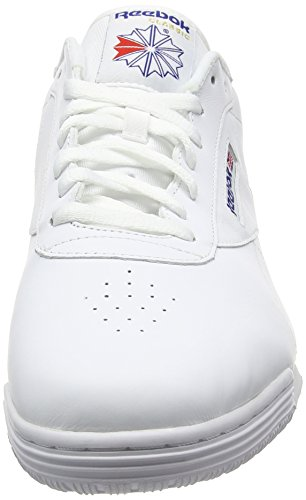 Reebok Exofit Lo Clean Logo, Sneakers Basses Homme AR3169_47 EU_White/Royal Blue/Royal Blue
