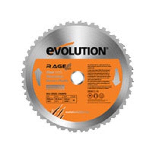 Evolution Power Tools 7–1/10,2 cm Multipurpose Lame de coupe pour acier, RAGE255Blade