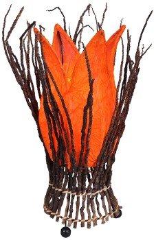 Lampe STELLA - Deko-Leuchte, Stimmungsleuchte, Farbe:orange
