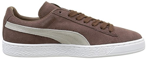 Puma Suede Classic+ , Sneakers Basses Mixte Adulte Marron (Potting Soil Brown/Feather Gray/White)