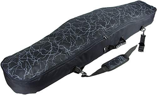 Witan SNOWBOARDTASCHE Board Bag Snowboard Tasche 155/165 cm Snowboardbag Boardsack Rucksack mit Tragegriff Sack (20 - Donner, 155)