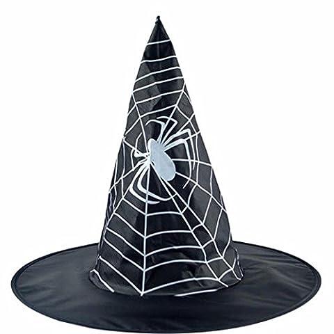 29 Costumes Diy Halloween Pour Adultes - Halloween decoration Noir Chapeau Sorcière Adult Taille