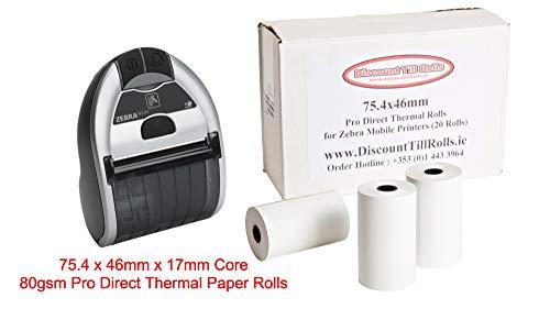 Zebra iMZ320rollos papel térmica directa