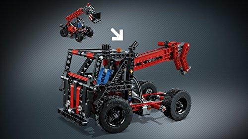 lego technic 42061 teleskoplader vos. Black Bedroom Furniture Sets. Home Design Ideas