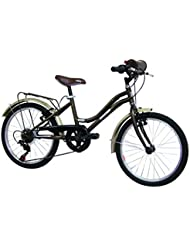 "Route 66 Beatty Vélo Enfant Marron 20"" 6v"