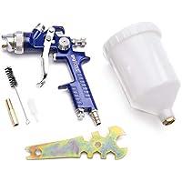 Ipotools H-827P HVLP Lackierpistole Spritzpistole - Profi Farbsprühsystem mit 600 ml Plastikbecher und Edelstahldüse 1,3 mm