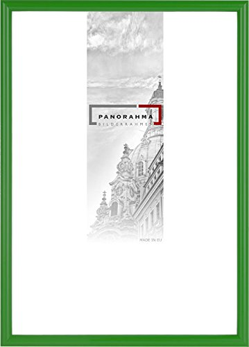 PANORAHMA BILDERRAHMEN Kunststoff Bilderrahmen, Bildformat: 29,7 x 42 cm (Din A3), Grün