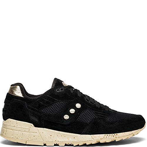 Saucony shadow 5000, sneaker uomo, nero (black/gold 1), 42 eu