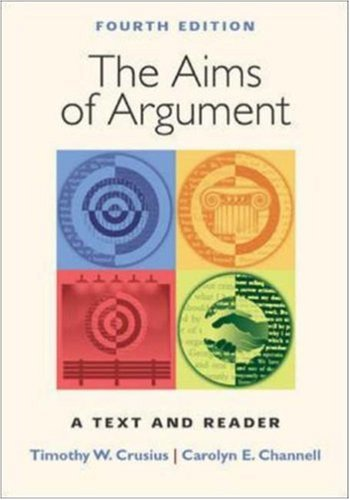 Aims of Argument: Text and Reader, 2003 MLA Update