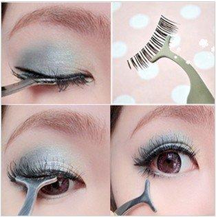 Diamondhead Professional Beauty faux cils Make Up Remover applicateur brucelles