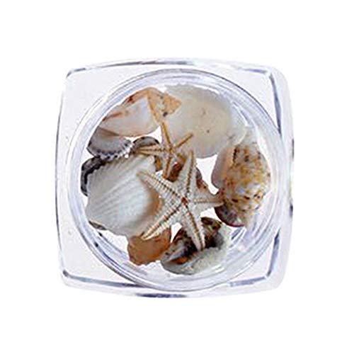 Mini Office Depot 1 Box 3d Natur Nagelkunst Dekoration Mini Muschel Muscheln Nagel Ornamente