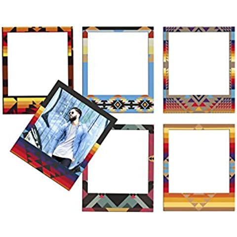 Doiy Polaprint Native - Pack de 6 marcos de foto con imán