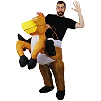 I Love Fancy Dress ilfd4052 Unisex Hinchable Disfraces de Caballo (Talla única)