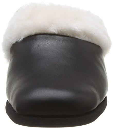 Rohde - 6152, Pantofole A Casa da donna Nero (schwarz)