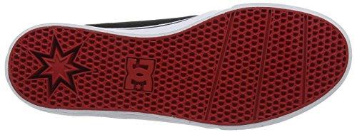 DC Shoes Herren Trase Tx Sneaker Schwarz (Black/Red/White)