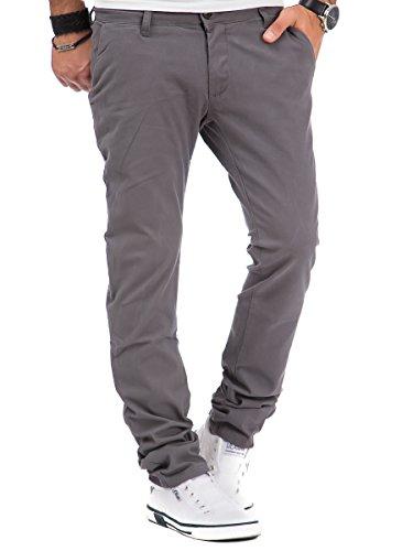 Tazzio - Pantalon - Chino - Homme Anthracite