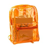 Jiacheng29 Women Transparent Bag Kids Clear Backpack Student Sports School Travel Bags