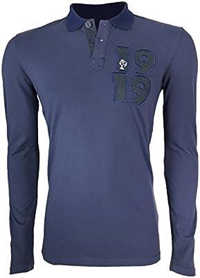 Collegiate FFR-Polo de manga larga, camiseta, color