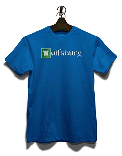 Wolfsburg T-Shirt Royal Blau