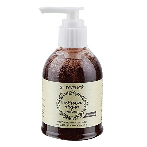 ST. D\'VENCÉ Moroccan Argan Oil & Raw Honey Face Wash, 150 ml