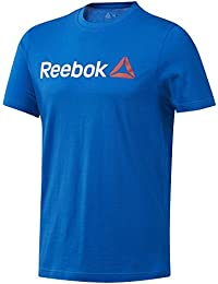 Reebok Qqr Linear Read Camiseta, Hombre, Azul (bluspo), M