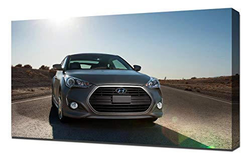 2013-Hyundai-Veloster-Turbo-V2-1080 - Canvas Art Print - Wall Art - Canvas  Wrap