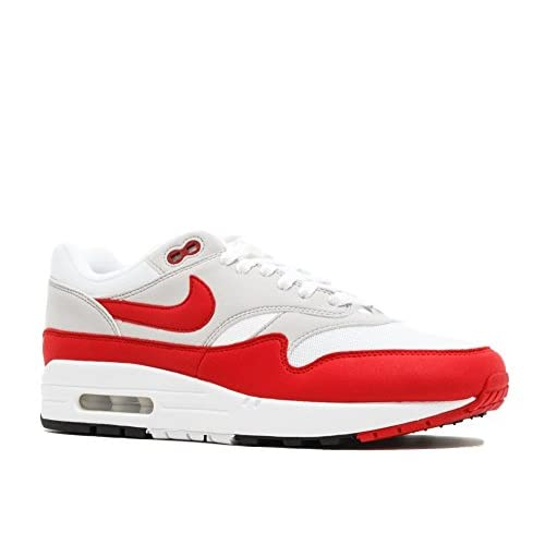 4182vw39PYL. SS500  - Nike Air Max 1 Anniversary OG - White/University Red Trainer