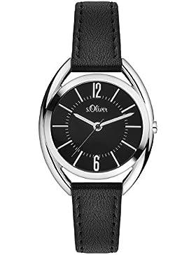 s.Oliver Time Damen-Armbanduhr SO-3363-LQ