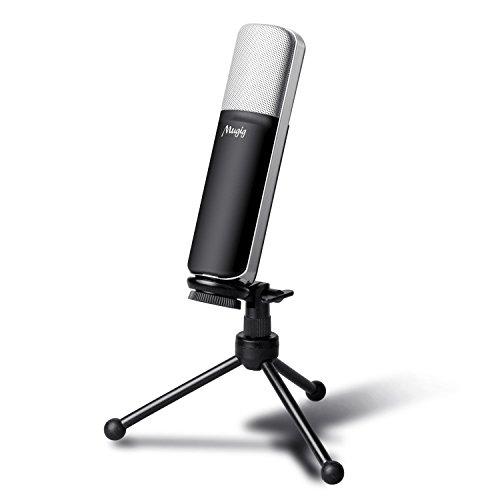 Mugig Microphone USB à Condenseur Professionnel...