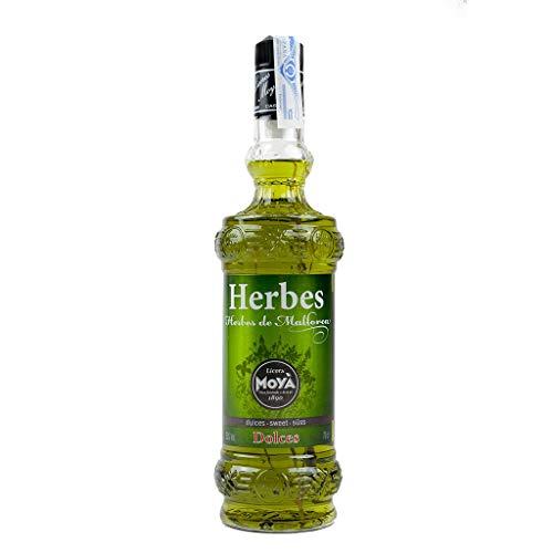 Licor de Hierbas de Mallorca Dulces Moyá 70cl 25{b62a152f7144fad3ec43a31b52c7c2d8e6b5094dfd15ae7ccf15df8e48646236} Alcohol