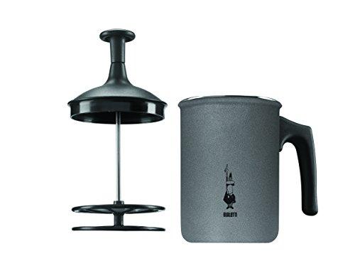 Bialetti Tutto Crema Milchaufschäumer 6 Tassen mit Doppelsieb für einen stabilen Milchschaum thumbnail