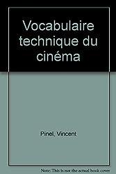 Vocabulaire technique cinéma