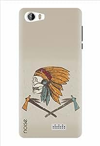Noise Designer Printed Case / Cover for Intex Aqua Trend / Patterns & Ethnic / Indian Warrior