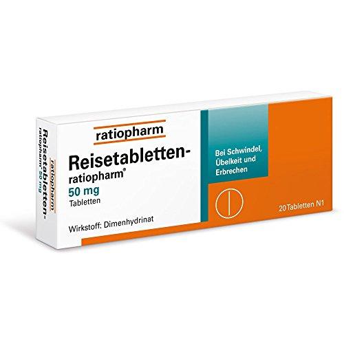 REISETABLETTEN ratiopharm 20 St