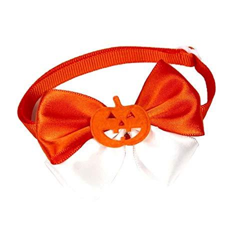 KTENME Nœud Papillon Halloween pour Animal Domestique Accessoires pour Halloween Chat Chien Sangle de Cou #1