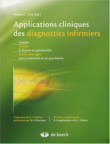 Applications cliniques des diagnostics infirmiers
