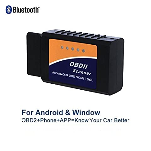 Golvery Bluetooth OBD OBD2 OBDII Car Diagnostic Scan Tool, Mini