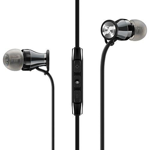 Sennheiser Momentum in-Ear Casque et Micro Binaural écouteur Noir, Chrome avec Fil - Casques et micros (avec Fil, écouteur, Binaural, Intra-aural, 15-22000 Hz, Noir, Chrome)