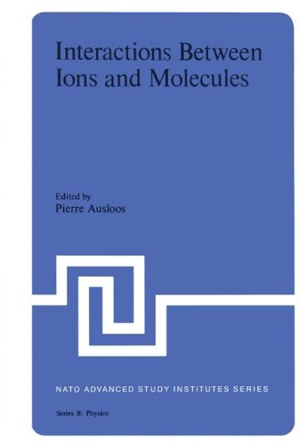 Interaction Between Ions and Molecules (Nato Science Series B:)