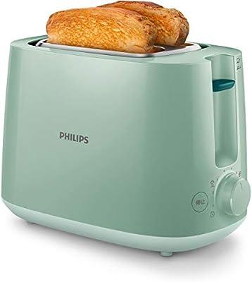 Philips 1 Tostadora Hd2581/60, 800 W, Verde