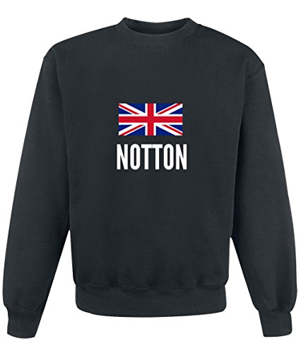 Felpa Notton city Black