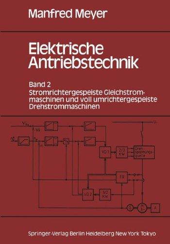 Elektrische Spule (Elektrische Antriebstechnik: Band 2: Stromrichtergespeiste Gleichstrommaschinen Und Voll Umrichtergespeiste Drehstrommaschinen)